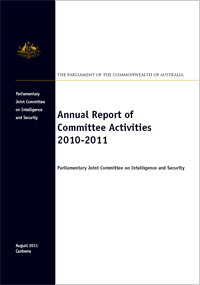 Cover of PJCIS report