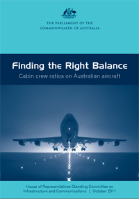 "Cover of report ""Finding the right balance"""