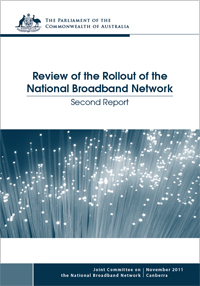 Cover of Rollout of the National Broadband Network – Second Report