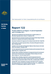 Cover of Treaties report